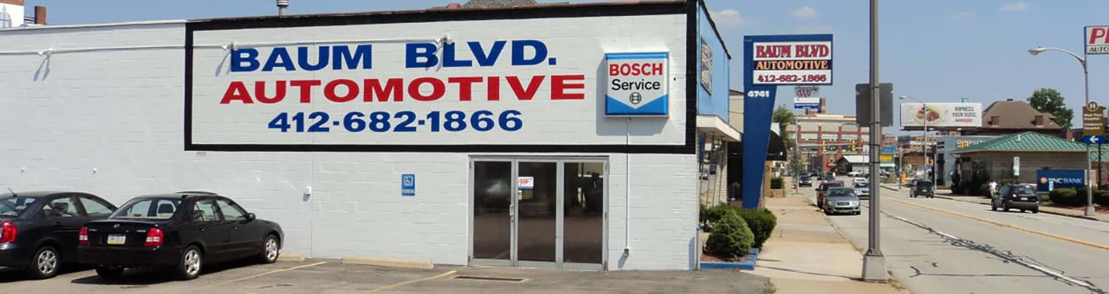 Baum Boulevard Automotive exterior